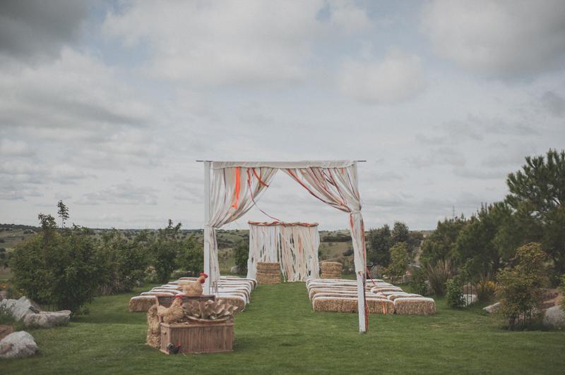 La boda de Noe y Dani en un lugar diferente