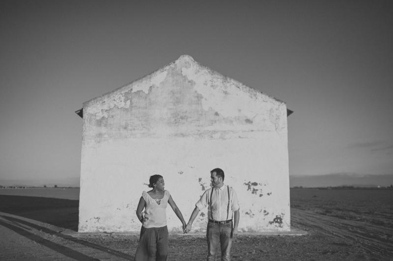Sesión de pareja Isla Mínima Sevilla